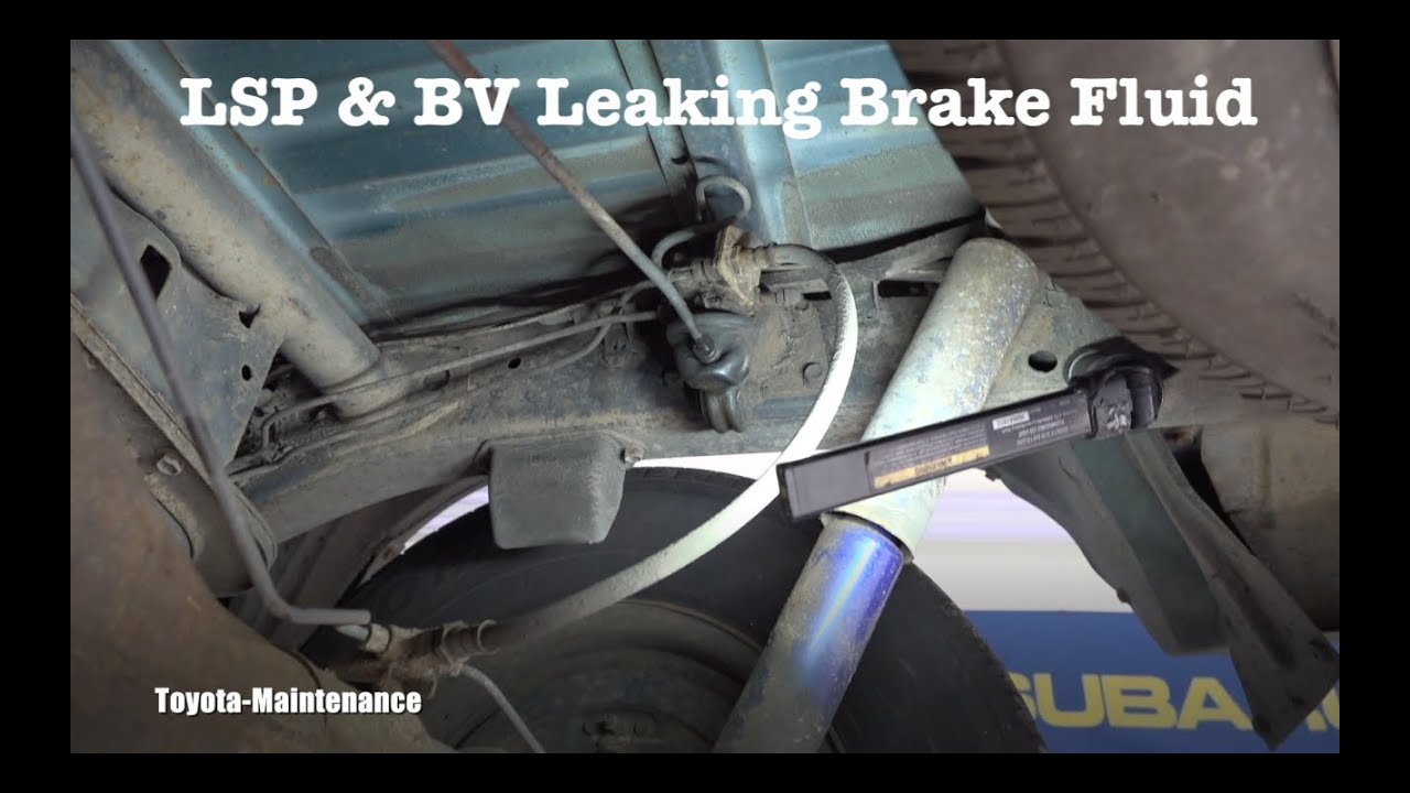 Toyota Load Sensing Proportioning and By-Pass Valve LSP & BV