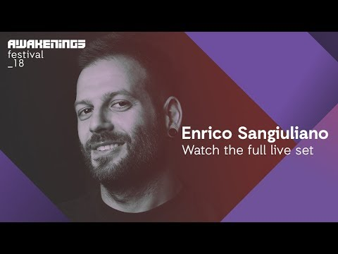 Awakenings Festival 2018 Sunday - Liveset Enrico Sangiuliano @ Area V
