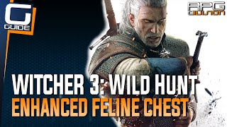 Witcher 3: The Wild Hunt - Enhanced Feline Chest Armor Diagram Location (Cat School Gear)