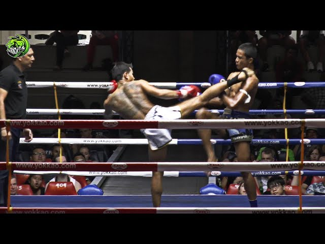 Petchpibun(Dim) Emerald Muay Thai gym vs  Khaosod Promin gym