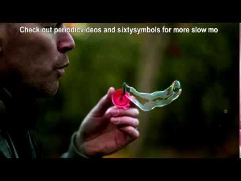 Blowing Bubbles in Slow Motion