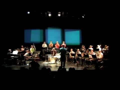The Sid Hille Jazz Orchestra performs Felsenfest