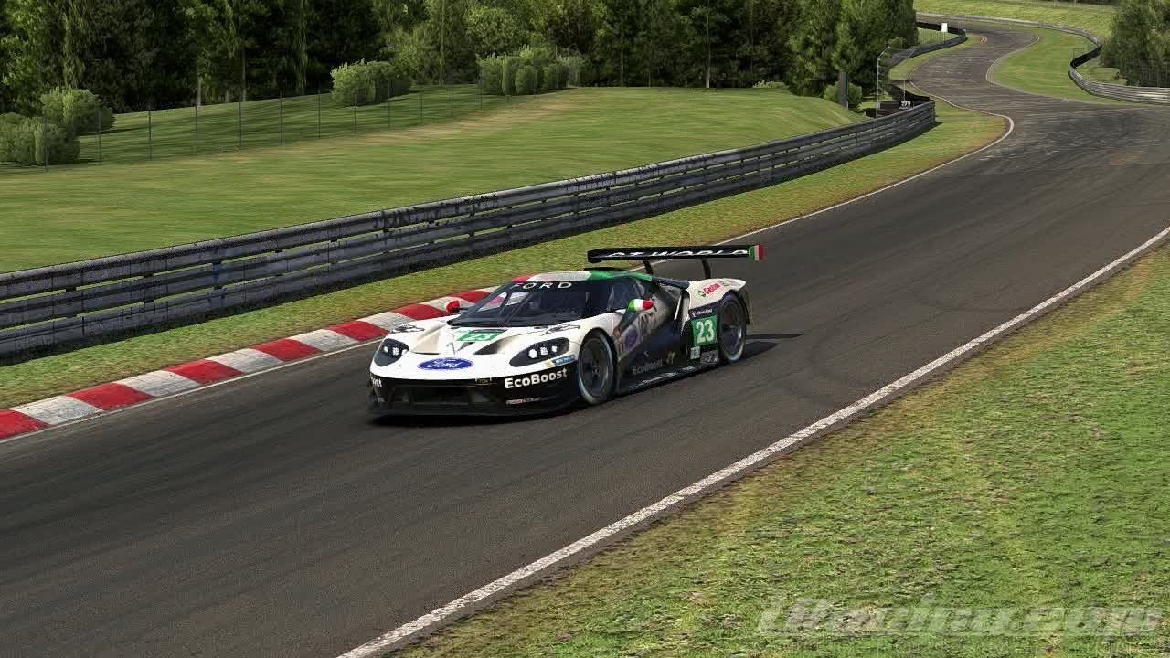 Iracing Time Ford Gt Gte H Nurburgring Nordschleife   Gtworld