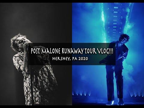 55 Minutes Of Post Malone Runaway Tour - Hershey PA 2020