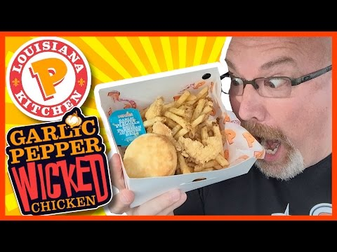 ★ Popeyes Louisiana Kitchen ★ Garlic Pepper Wicked Chicken Review