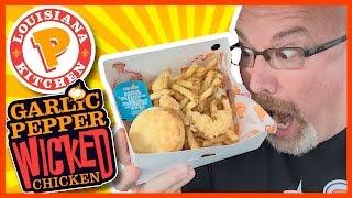 ★ Popeyes Louisiana Kitchen ★ Garlic Pepper Wicked Chicken Review | KBDProductionsTV