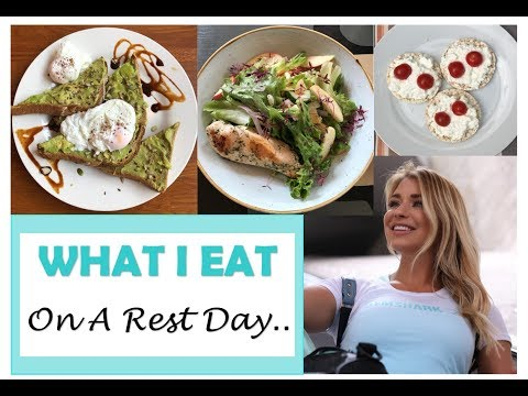 What I Eat On A Rest Day  Tracking Macros Whilst Travelling  GIRL TALK Ep.4