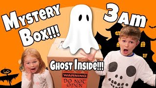 Don't Open the MYSTERY BOX at 3am!!!!! 3am Haunted Mystery Box!