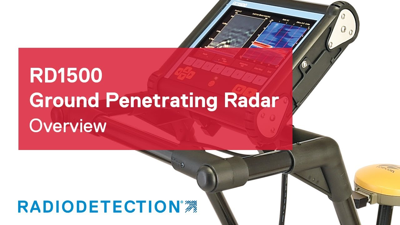 RD1500 Ground Penetrating Radar Overview