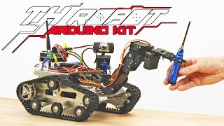 TH Robot Arduino Kit with Wifi and Camera - HobbyKing New Release
