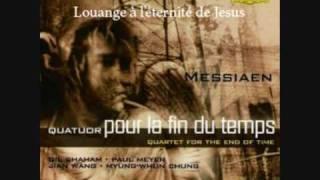 Messiaen - Quatuor pour la fin du temps - 5 - Louange à l