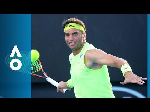 Salvatore Carusa v Malek Jaziri match highlights (1R)   Australian Open 2018