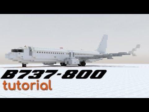 Boeing 737-800 [1.5:1] Tutorial! | Minecraft