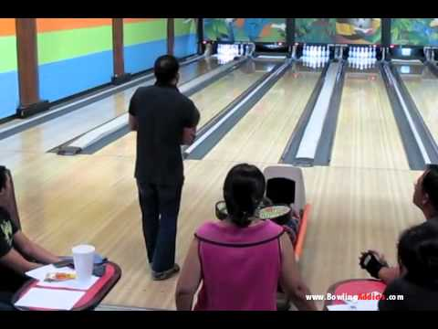 Ariel Rodriguez 300 Game on 1-13-12 at Jewel City Bowl in Glendale, CA.