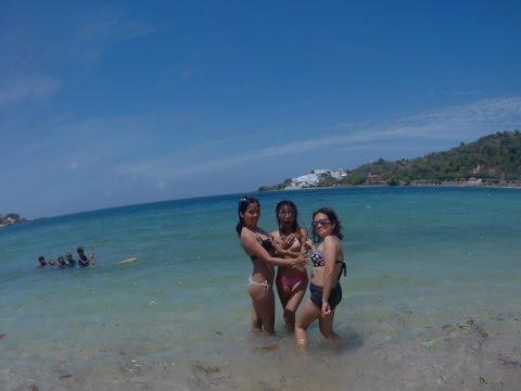 White Sand Beach in Santiago Ilocos Sur, Philippines