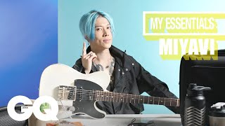 10 Things MIYAVI Can't Live Without | GQ JAPAN