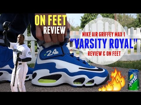 Look For The Nike Air Griffey Max 1 Varsity Royal At Retailers Later