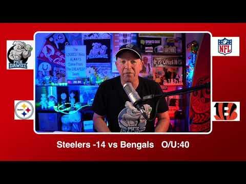 Cincinnati Bengals vs Pittsburgh Steelers 12/21/20 NFL Pick and Prediction Monday Week 15 NFL