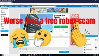 THE MOST PATHETIC BOTTED GAME ON ROBLOX
