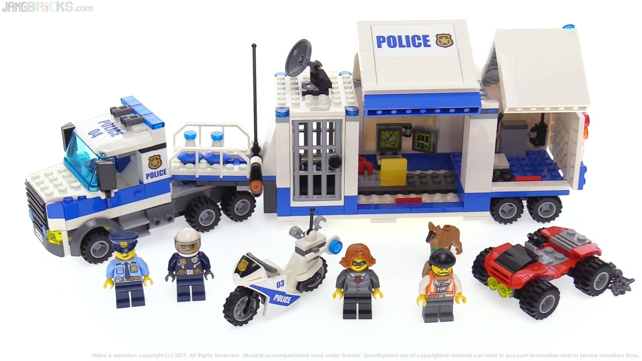 Lego City Police Mobile Command Center Review 60139 Youtube