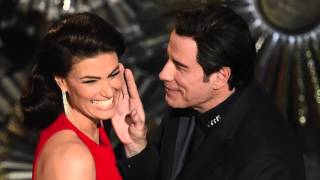 Oscars 2015: John Travolta Gets Creepy with Scarlett Johansson and Idina Menzel | Hollyscoop News