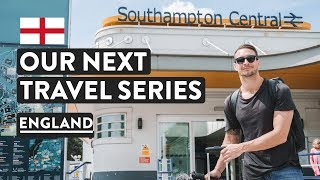 BIG NEWS! + London To Southampton Train | England Travel Vlog | United Kingdom