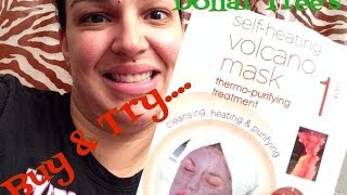 Buy & Try | Skin Benefits Self-Heating Volcano Mask (Dollar Tree)