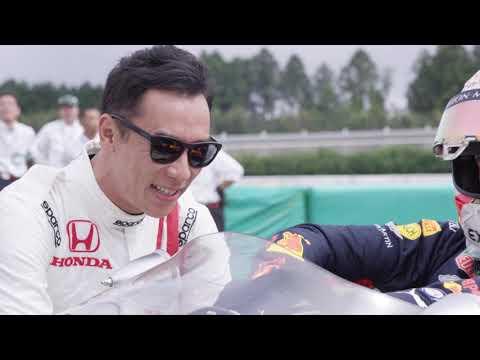 """フェルスタッペン��藤�磨�ホンダF1�優�マシン""""RA272""""をドライブ"""