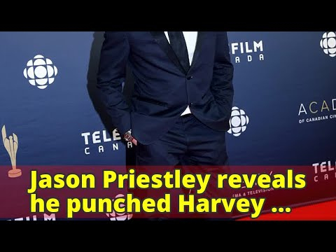 Jason Priestley reveals he punched Harvey Weinstein during 1995 Golden Globes party