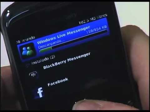 BLACKBERRY 9300 DESCARGAR WINDOWS LIVE MESSENGER