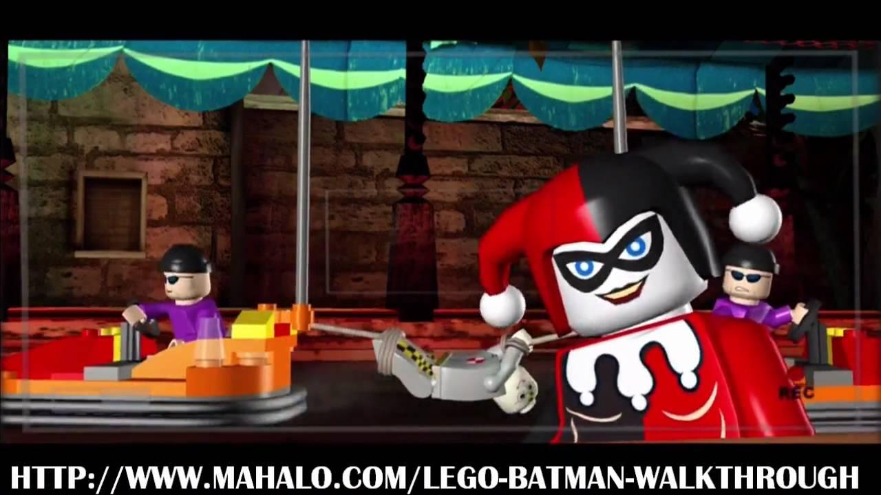 LEGO Batman Walkthrough - Mission 12: Little Fun at the ...