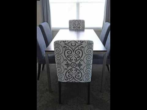 dining chairs slipcovers graco metropolis high chair covers youtube