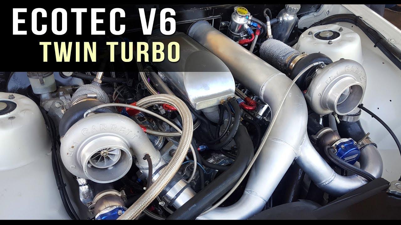 V6 Ecotec twin turbo | TERAFI Commodore