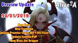 Destiny Knights Update detail 30/01/19 Super Big!!!