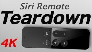 Siri Remote Teardown 4 generacion desassembly