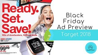 Target Black Friday Ad Preview 2018
