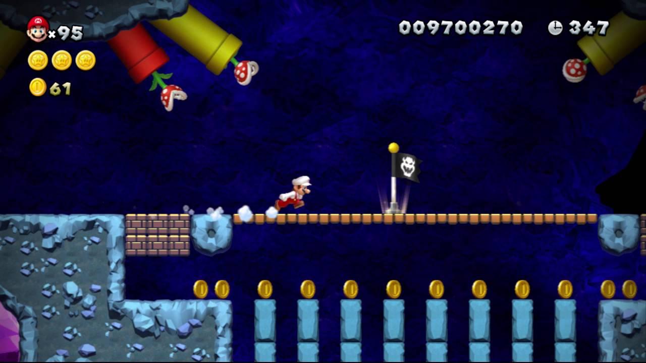 Tcrf New Super Mario Bros U More Unused Backgrounds Youtube