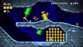 [TCRF] New Super Mario Bros. U - More unused backgrounds