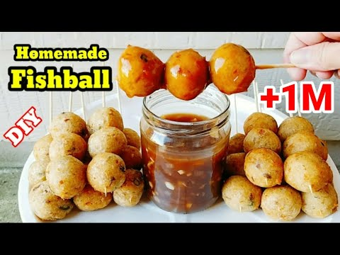 The Best FISH BALLS Recipe FILIPINO STYLE 🍡| Easy Fishballs With Sauce Recipe | Fishballs Recipe