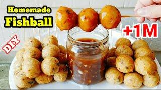 The Best FISH BALLS Recipe FILIPINO STYLE  Easy Fishballs With Sauce Recipe  Fishballs Recipe