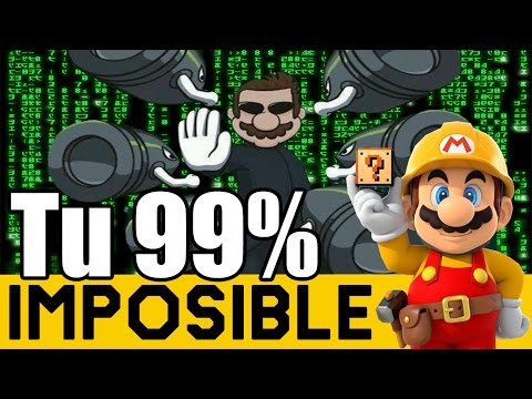 Error en la Matrix - 99% Imposibles de Suscriptores #6 | Super Mario Maker en Español - ZetaSSJ