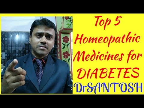 Top 5 homeopathic medicines to control diabetes mellitus permanently.by SANTOSH KUMAR PADHY,