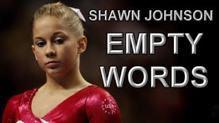 Shawn Johnson || Empty Words