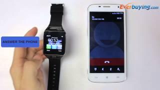 GV08S Bluetooth Smart Watch Single SIM Phone