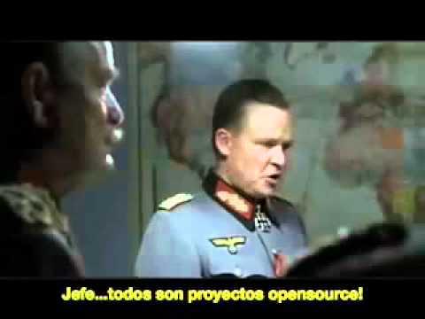 Hitler se entera que Oracle Compro Sun Microsystems.wmv