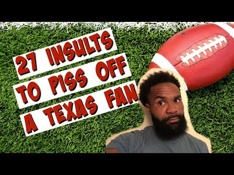 Soonering 27 Jokes To Piss Off A Texas Fan And Ou Vs Texas