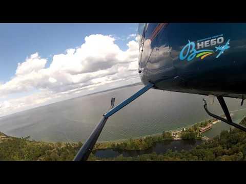 Полет на вертолете Robinson R44 над Межигорьем