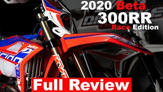 2020 Beta 300RR Race Edition Full Review | Owning and riding it for 6 Months!