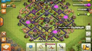 BATTLE RAM VS BARBARIAN CHALLENGE IN CLASH OF CLANS