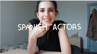 Weekly Spain Spanish Words - Spain Actors